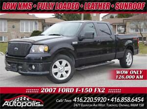 2007 Ford F150 FX2 SuperCrew • LEATHER • SUNROOF • LOW KMS