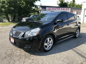 2010 Pontiac Vibe Comes Certified/5 Speed Manual/Gas Saver