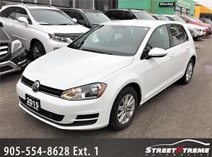 2015 Volkswagen Golf Comfortline|ACCIDENT FREE|HEATED SEATS|A/C