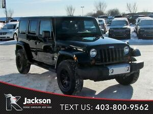 2013 Jeep Wrangler Unlimited Sahara - Bluetooth, Alpine Stereo