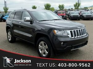 2011 Jeep Grand Cherokee Overland - Heated Front and Rear Seats!