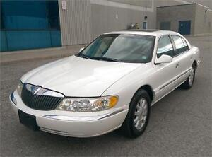2000 LINCOLN CONTINENTAL,LEATHER,SUNROOF,LOADED,ONLY 76,000 KM!!