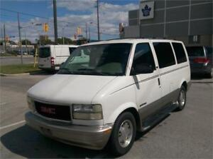 2002 GMC Safari SLT,Excellent Condition,No Body Rust,Only 163 KM