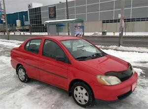 SOLD!! 2002 TOYOTA ECHO,MINT CONDITION,NO ACCIDENTS, ONLY 103 KM