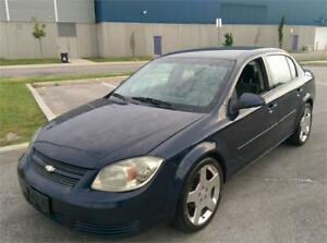 2010 CHEVROLET COBALT, SS RIMS, NO ACCIDENTS, ONLY 81 KM!!! LT,S