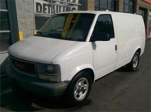 2004 GMC SAFARI CARGO VAN, INCREDIBLE CONDTITION! NO BODY RUST!!