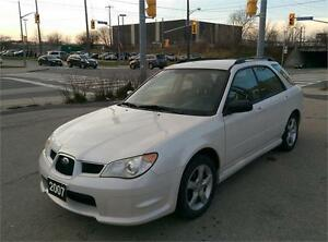 SOLD! 2007 SUBARU IMPREZA AWD! VERY RARE PEARL WHITE!! LOW KM!!!