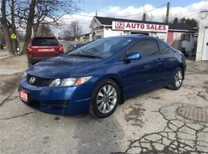 2010 Honda Civic EX-L/Automatic/Certified/Leather/Sunroof