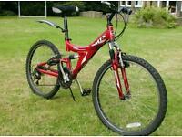 Mountain bike fully suspension
