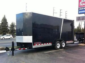 Enclosed Tilt and Load Equipment Trailer