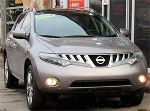 2009 Nissan Murano LE/back up camera/leather/panoramicroof