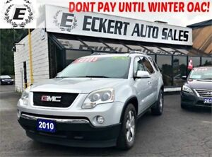 2010 GMC Acadia SLT1 AWD WITH LEATHER /SUNROOF /3RD ROW SEATS