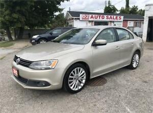 2012 VW Jetta TDI/Certified/Accident Free/Leather/Sunroof