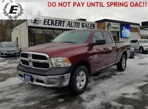 2017 RAM 1500 ST/SXT PACKAGE  DO NOT PAY FOR 6 MONTHS OAC!!