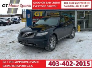 2007 INFINITI FX35   GUARANTEED APPROVALS! IN HOUSE AVAILABLE!