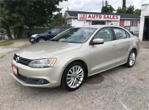 2012 VW Jetta Diesel/Certified/Accident Free/Leather/Sunroof