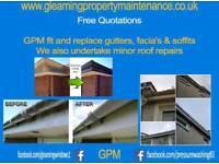 Roofs/ gutter repairs/ upvc gutters facia & soffits