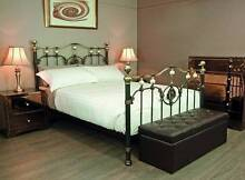 OPERA QUALITY HEAVY CAST IRON QUEEN BED FLOOR STOCK  RRP$1200 Chadstone Monash Area Preview