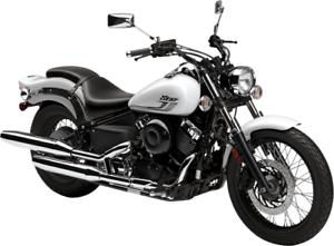 2018 YAMAHA - V-STAR 650 CUSTOM MOTOCYCLE