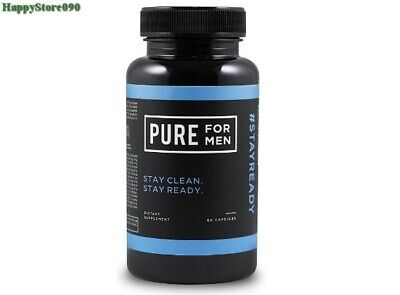 Pure for Men - The Original Vegan Cleanliness Fiber Supplement, 60 Capsules Fiber Supplement Capsules