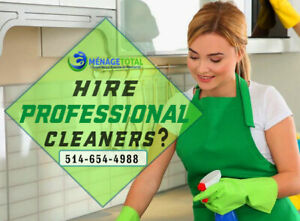 Hire Professional Maid Cleaners by Menage Total