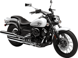 YAMAHA V-STAR 650 DEMO