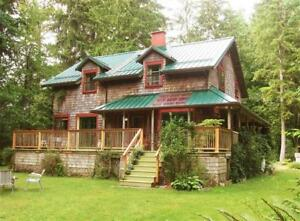 3 Bdrm House on acres in Merville (North Courtenay) Oct 15-Jan1