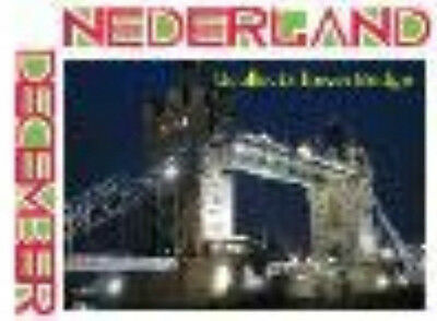NETHERLANDS 2012 UCOLLECT BRIDGES 3 LONDON TOWER BRIDGE MNH/POSTFRIS C