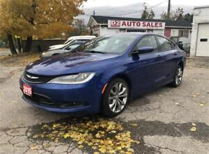 2015 Chrysler 200 S/AWD/Certified/Accident Free/Bluetooth