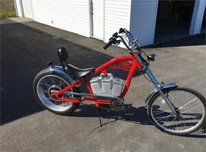 New Electric Chopper Bicycle