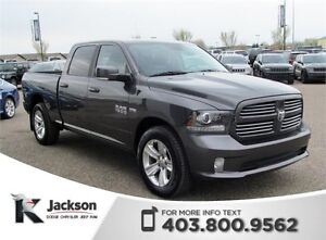 2014 Ram 1500 Sport 4WD - Nav, Heated/Ventilated Leather