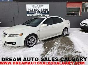 2007 ACURA TL TYPE S 3.5 V6 6 SPEED NAVIGATION AVAILABLE NOW!