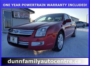 2007 Ford Fusion SEL AWD!
