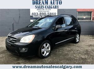 2009 KIA RONDO EX 7 PASSENGER V6 LEATHER SUNROOF!! APPLY NOW!!