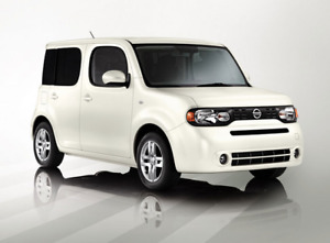 White 2012 Nissan Cube 1.8 / I4 SL, Auto 5 door Wagon, Tech Pack