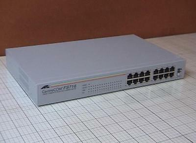 Allied Telesyn AT-FS716 Unmanaged 16 Port Fast Ethernet Switch 10/100 Layer 2