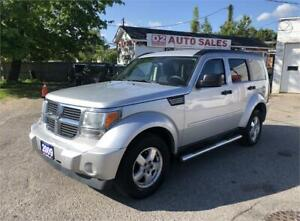 2009 Dodge Nitro Comes Certified/Automatic/Bluetooth/Fog Lights
