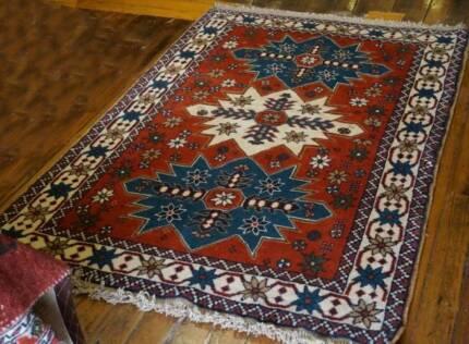 Handmade Persian Rug Wool Carpet Kurdish Tribal Stunning Design Hornsby Hornsby Area Preview