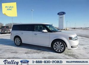 FOR THE MODERN FAMILY! 2015 Ford Flex Limited AWD CROSSOVER