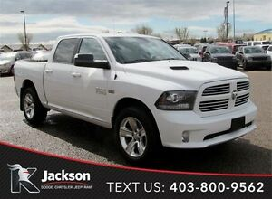 2013 Ram 1500 Sport 4WD - Heated Cloth Seats, Navigation