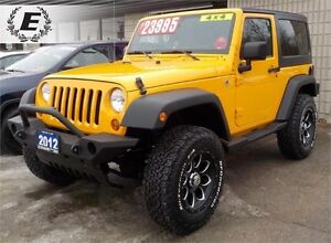 """2012 Jeep Wrangler Sport WITH 4"""" LIFT KIT, FRONT PUSH BAR"""