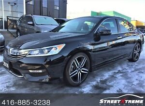 2016 Honda Accord Sport w/ BACKUP CAM, KEYLESS, SUNROOF, ECOMODE