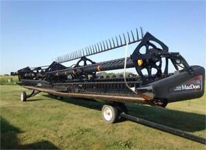 Used MacDon Header- Starting at $59,000