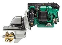 Volvo D4-225 Marine Engine and DPH Drive Parts