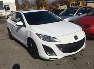 2010 Mazda 3 GT Cuir Toit Ouvrant