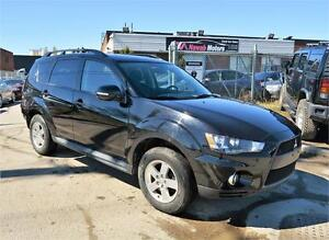 2010 Mitsubishi Outlander LS | 7 Passenger | All Wheel Drive