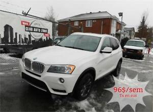 BMW X3 28i 2011 XDRIVE (AUTOMATIQUE BLUETOOTH TOIT PANO)