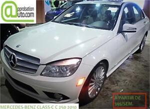 2010 Mercedes-Benz Classe-C C 250, À PARTIR DE 59$/SEM. 100% APP