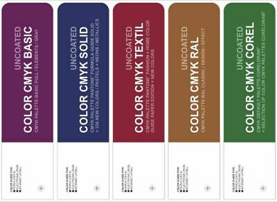 Set Color Cmyk Uncoated - Pantone Textil Ral  Basic Corel