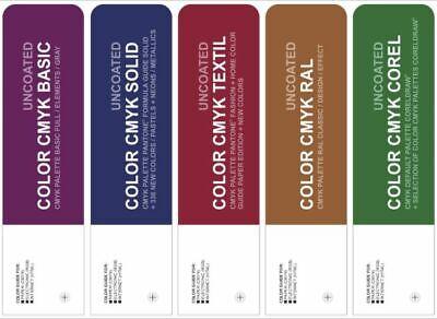 Set Color Cmyk Uncoated - Pantone Textil Ral  Basic Corel